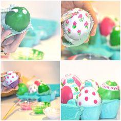 Huevos de Pascua decorados y con sorpresa!