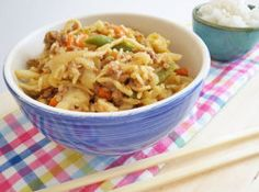 Chow Mein recipe - Best Recipes swap noodles for miracle / shiritaki noodles /rice for low carb