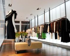 pinterest fashion boutique textured walls and clothing store design