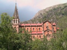 Covadonga, Asturias, Spain. I spent a year in Spain during my University career & I visited here. It really is very beautiful.