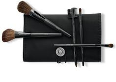 The Mary Kay® Brush Collection     The Mary Kay® Brush Collection includes five professional-quality brushes that are essential for the perfect application. The brushes come with the Mary Kay® Cosmetic Organizer Bag that's roomy enough for your Mary Kay® Compact, lip gloss, mascara and other makeup applicators.