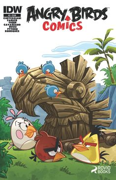 Angry Birds: by Jeff Parker, available at Book Depository with free delivery worldwide. Angry Birds, Birds 2, Bird Poster, Red Hood, Comics Online, Doctor Strange, Teen Titans, Captain Marvel, Vampires