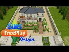 "The sims FreePlay - ""Viña Francesa"" (Original Design) - YouTube"