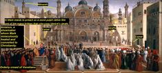 The Biggest Panting In Pinacotheca ,,St. Mark Preaching In Alexandria,, Venice Canals, Alexandria, Christianity, Renaissance, Taj Mahal, Big, Building, Travel, Painting