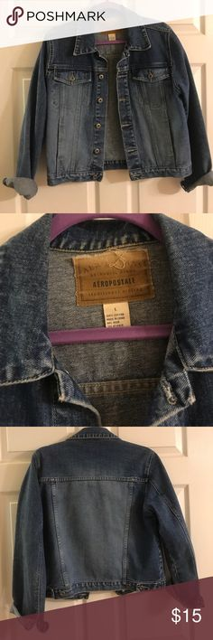Aeropostale Jean jacket Aeropostale Jean jacket in great condition Aeropostale Jackets & Coats Jean Jackets