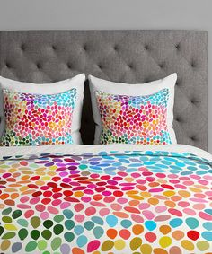 Love this Rainbow Teardrop Duvet Cover by DENY Designs on Rainbow Bedding, Rainbow Bedroom, Dream Bedroom, Girls Bedroom, Bedroom Ideas, Big Girl Rooms, Duvet Cover Sets, My Room, Room Decor