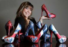 Houston Texans Heels | Houston Texans Fashion