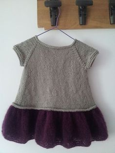 Pretty Hand Knitted Baby Sweat