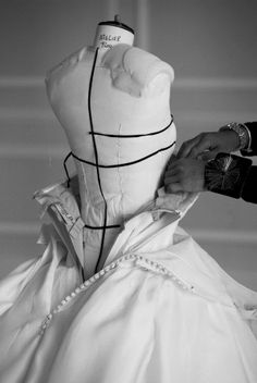 Fashion Atelier - haute couture fashion behind the scenes; dressmaking; fashion…