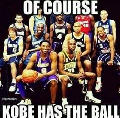 Kobe Bryant: Even when its not his team! weheartokcthunder - Funny Sports - - Kobe Bryant: Even when its not his team! weheartokcthunder The post Kobe Bryant: Even when its not his team! weheartokcthunder appeared first on Gag Dad. Kobe Memes, Funny Nba Memes, Funny Basketball Memes, Sport Basketball, Nfl Memes, Love And Basketball, Kobe Bryant Memes, Basketball Quotes, Basketball Couples