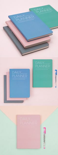 This planner is all about planning! Clean and well-organized, this planner has monthly and daily planning pages to help you plan your days in details! The large size makes it fun and easy to write everything about your plan, and because it's dateless, you can start at any time of the year!
