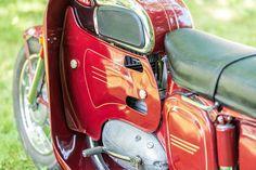 Vintage Motorcycles, Cars And Motorcycles, Eastern Europe, Golf Bags, Motorbikes, Honda, Polish, Retro, Vehicles