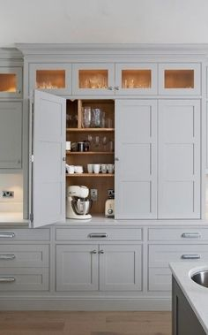 #homedecor #kitchenideas #inspiration |Bi-Fold larder