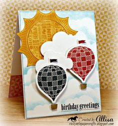 CTMH Artiste CRICUT cartridge HOT AIR BALLOON Rocky Mountain Paper Crafts: April Stamp of the Month Blog Hop!