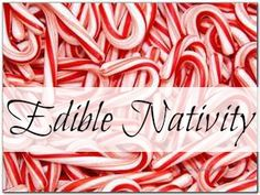 Edible Nativity in Candy Form | The Architect and The Artist