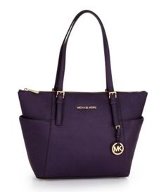 MICHAEL Michael Kors Jet Set Top Zip East-West Tote | Dillards.com