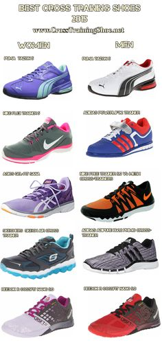Best cross training (crossfit) shoes for men and women in 2015