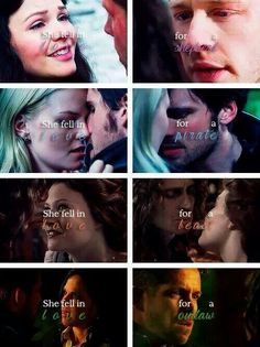 Once Upon A Time Prince Charming and Snow White, Hook and Emma, Rumpel and Belle and Robin Hood and Rigina