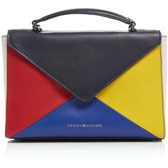 Tommy Hilfiger Leather Clutch Crossbody Bag (210 AUD) ❤ liked on Polyvore  featuring bags, handbags, shoulder bags, bags   luggage handbags, purse  satchel, ... c0b8b31850