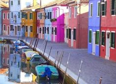 size: Photographic Print: Burano, Venice, Italy Poster by Alan Copson : Artists Places Around The World, Oh The Places You'll Go, Places To Travel, Places To Visit, Murano Italia, Cities In Italy, Travel Planner, Venice Italy, Italy Travel