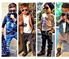 This little stud has nailed kids fashion! Obsessed!