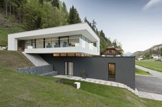 Architecture Discover Einfamilienwohnhaus T. Aigen im Ennstal Modern House Plans Modern House Design Casas Containers Hillside House Small Modern Home Modern Contemporary Glass Facades Container House Design Villa Design Villa Design, Modern House Plans, Modern House Design, Casas Containers, Hillside House, Small Modern Home, Modern Contemporary, Glass Facades, Container House Design