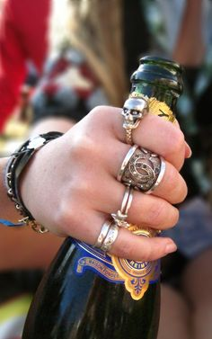 chanel ring (middle finger). That looks awesome