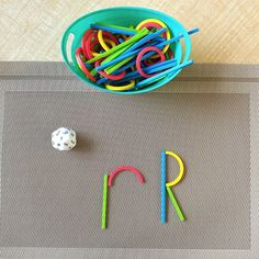 Reinforce literacy skills with these fun, hands-on activities. Students will practice letter recognition and letter formations while using this fun manipulative.