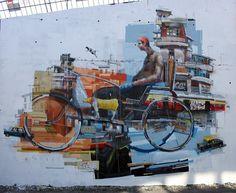 Sebas Velasco New Mural In Santander, Spain