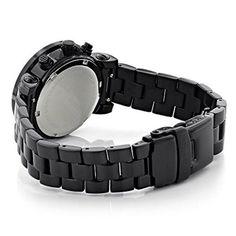 1f97c258e914 Ladies Diamond Watches: Luxurman Black Diamond Watch 2.15 carats Watch 2,  Smart Watch,. Walmart.com