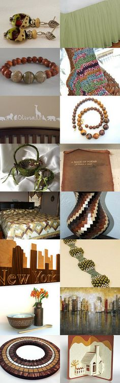 Earth Tones by suzanne sumrow on Etsy--Pinned with TreasuryPin.com