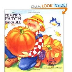 "Nice book w/ NON  hw message.  Relates pumpkins to how we all need to be ""cleaned"" up by Jesus.  We all LOVE this book, and I heard the auther speak at a ladies conf."