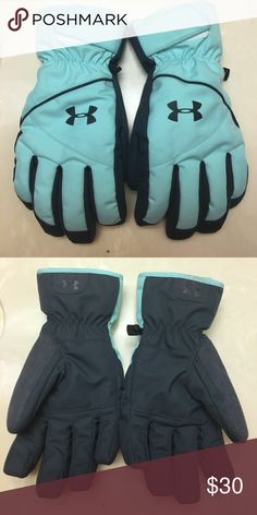 Gloves Teal winter gloves Under Armour Accessories Gloves & Mittens