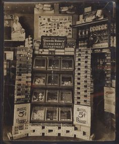General store display.