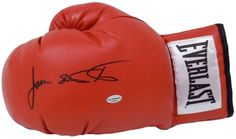 James Buster Douglas Autographed Red Everlast Boxing Glove SI