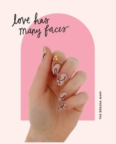 Get the perfect nail art manicure at home in minutes with our 100% nail polish wraps. Simply stick on and go! Funky Nail Art, Pretty Nail Art, Funky Nails, Cute Gel Nails, New Year's Nails, Best Acrylic Nails, Acrylic Nail Designs, Mani Pedi, Manicure