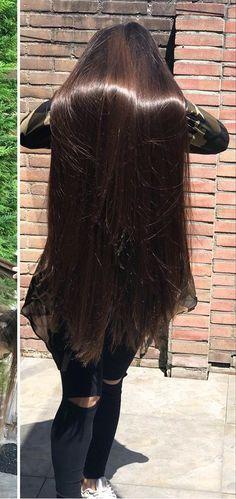 Long Silky Hair, Long Dark Hair, Very Long Hair, Beautiful Long Hair, Gorgeous Hair, Long Indian Hair, Dipped Hair, Rapunzel Hair, Luxury Hair