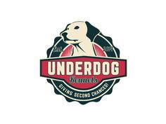 Looking for Dog Boarding, Daycare, or Grooming in the Dallas TX area? Visit our site to learn how Underdog Kennels can help. Moon Logo, Dog Boarding, Dog Park, Blue Moon, Labrador, Logo Design, Logos, Logo Ideas, Cards