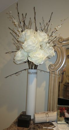 Fake Flower centerpiece I had made for someone's event