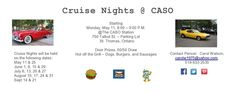 Cruise Night @ CASO Station 2015