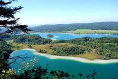 La Région des Lacs du Jura © CRT Franche-Comté #voyage #france #jura
