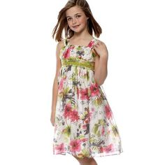 Bonnie Jean TWEEN GIRLS 7-16 ROSE-PINK GREEN GRAY EMPIRE WAIST MULTI FLORAL PRINT Special Occasion Wedding Flower Girl Easter Party Dress Bonnie Jean, http://www.amazon.com/dp/B007AJONG6/ref=cm_sw_r_pi_dp_vAYRpb1H41QAB