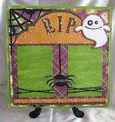 cute halloween layout