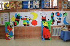 Surrealismo abstracto Pintor español cuyas obras recogen motivos extraídos del reino de la memoria y el subconsciente co... Art For Kids, Crafts For Kids, Arts And Crafts, Joan Miro Pinturas, Arts Ed, Art Plastique, Art Activities, Pre School, Nursery Art