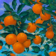 Valencia II by Jennifer Bellinger Oil ~ 46 x 46 Orange Aesthetic, Aesthetic Art, Aesthetic Pictures, Photo Wall Collage, Picture Wall, Collage Art, Wal Art, Art Hoe, Art Plastique