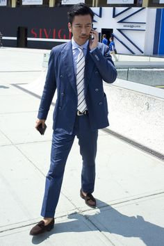 Blazers, Blue and Classy on Pinterest