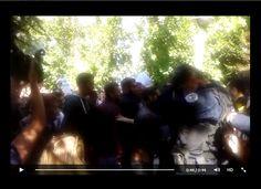 Studentët- protestues tentuan të hyn dhunshëm në Rektorat