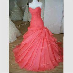 Custom Made Sweetheart Floor Length Ball Gown Prom Dresses,Evening Dresses,Long Prom Dresses,Long Wedding Dresses, Formal Dresses on Etsy, $182.99