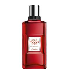Habit Rouge Sport is a fresh and invigorating interpretation of the legendary Habit Rouge.   Created in 1965, Habit Rouge was the first oriental fragrance for men in perfumery. From the moment of its launch, this tribute to Guerlain's passion for the dressage of horses created an element of surprise with its scents of sensual and bold vanilla. An oriental that is by turns citrusy, warm and accented with vanilla, it expresses the genius of contrast and well-mastered emotions. Habit Rou...