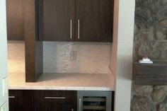 Kitchen Renovation with Built in Wine Cooler